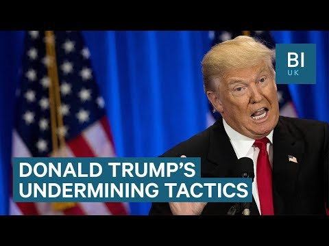 How Trump borrows anti-press tactics from authoritarian leaders