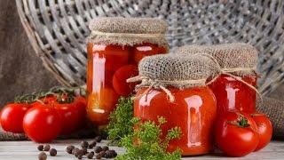 Маринованные помидоры на зиму Маринуем помидоры