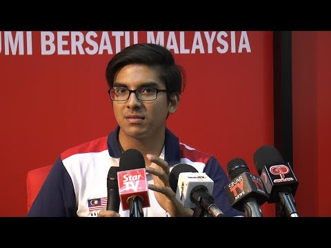 Syed Saddiq claims being blackmailed with 'sensitive photos'