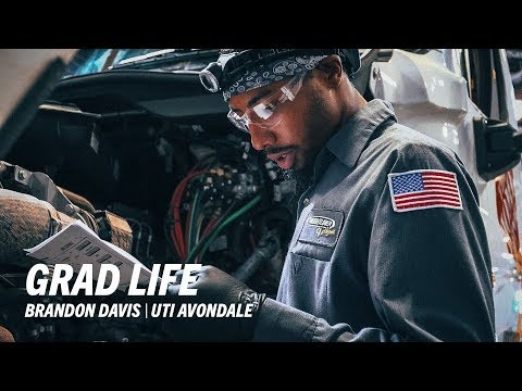 UTI Diesel Graduate, Brandon Davis - Universal Technical Institute
