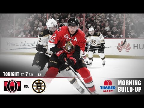 NHL 18 PS4. REGULAR SEASON 2017-2018: Boston BRUINS VS Ottawa SENATORS. 12.30.2017. (NBCSN) !