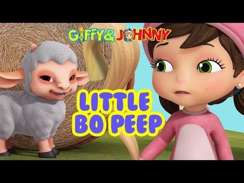 Little Bo Peep | Baby Rhymes for Children | Infobells ...