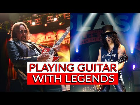 I played GUITAR with ACE FREHLEY and SLASH! – Warren Huart: Produce Like A Pro