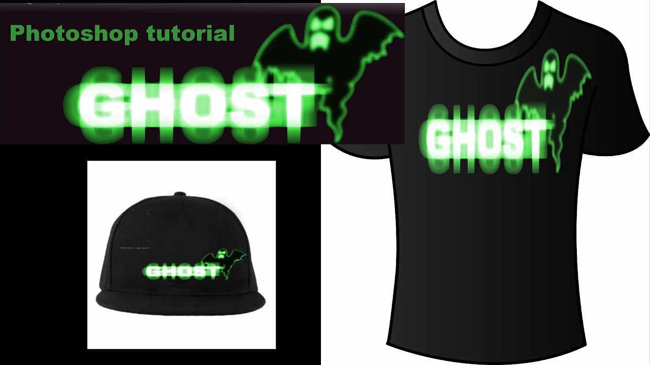 Design t shirt photoshop cs5 - Design Ghost Tshirt Using Adobe Photoshop Cs4 Cs5 Glow In Night Rfactorrocks