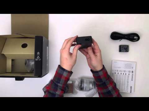 Unboxing the Fujifilm  X-A2 with 16-50mm Lens