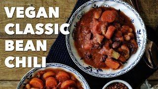Vegan Classic Bean Chili | #GoVeganNotBroke