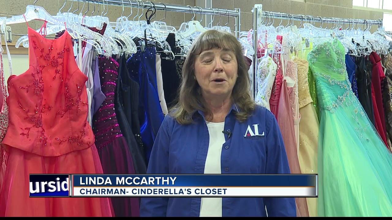 Cinderella\'s Closet rents prom dresses & tuxedos - YouTube