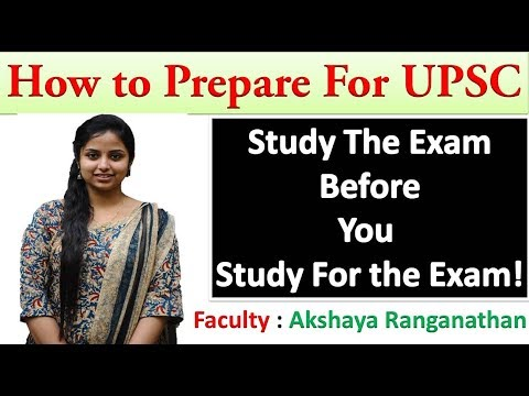 How to Prepare for UPSC civil Services in Tamil