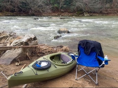 First Kayaking Trip Of 2015 - The Rapidan River