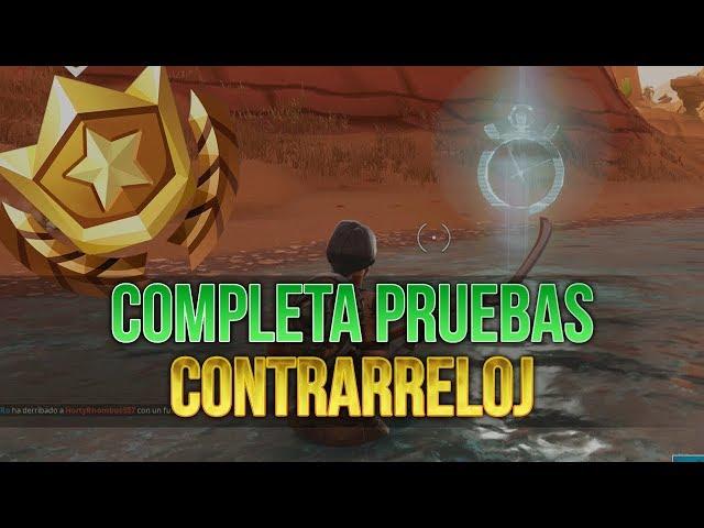 Fortnite | Completa Pruebas Contrarreloj | Desafíos de Temporada 5 | Semana 6