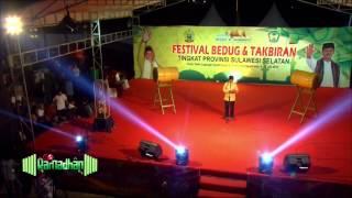 Festival Bedug & Takbiran 1436 H/2015 Se-Sulsel - Opening