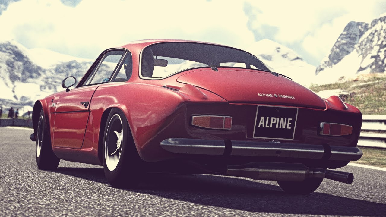 gt6 alpine a110 1600s 39 72 exhaust comparison youtube. Black Bedroom Furniture Sets. Home Design Ideas