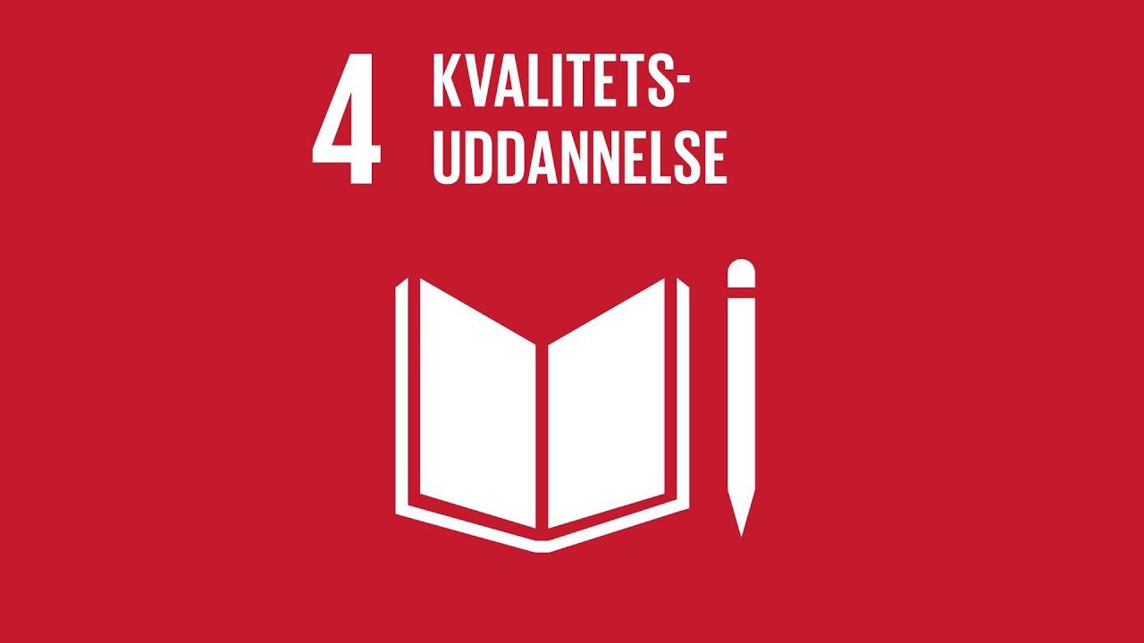 Mål 4: Kvalitetsuddannelse | Verdensmålene - for bæredygtig udvikling