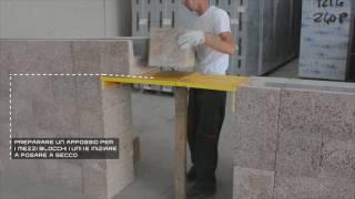 Isotex Academy - 4° Video Corso - Come realizzare architravi per porte e finestre