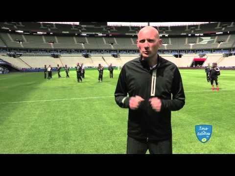#CDF 2015 : Dernier entrainement à J-1 de la finale pour Antony Gautier, arbitre international