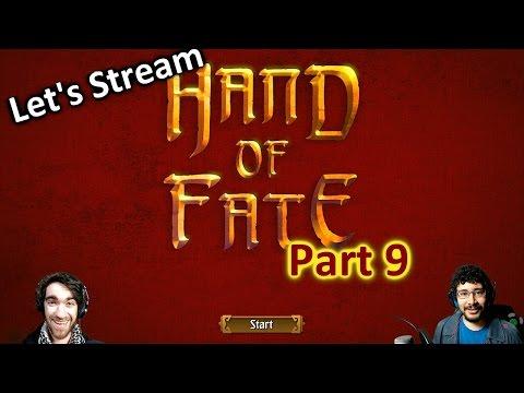 Let's Stream Hand of Fate Pt. 9 - A Gambler, a Lich, & a Rat Queen Walk Into A Tavern...
