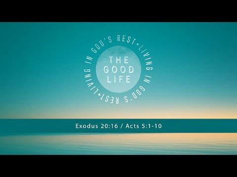 The Good Life: 5.21.2017