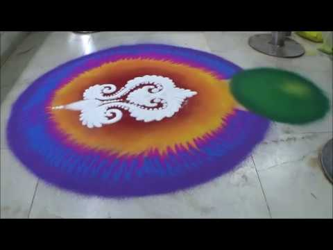 Best Sanskar Bharati Rangoli Designs by Satish Thavi