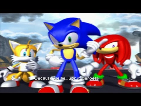 Sonic Heroes (FULL HD/60FPS) - Last Story / FINAL BOSS /ENDING