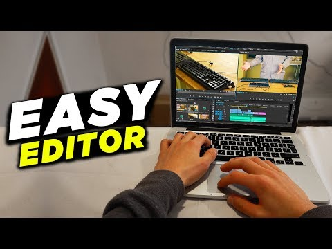 EASIEST Video Editing Software/Video Editor 2018! (EASY TO LEARN & USE)