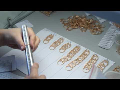 Замеры размеров ювелирных колец. Производство ювелирных украшений NEWGOLD.
