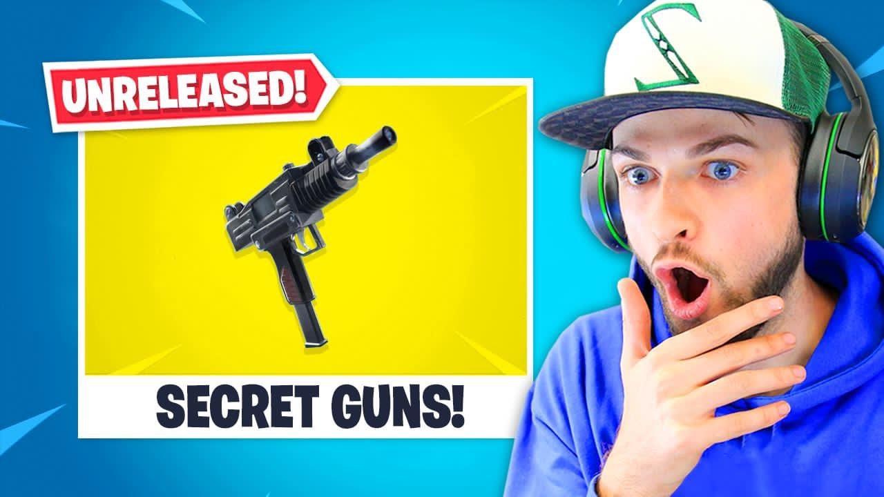 Geheime * UNRELEASED * Waffen in Fortnite! + video