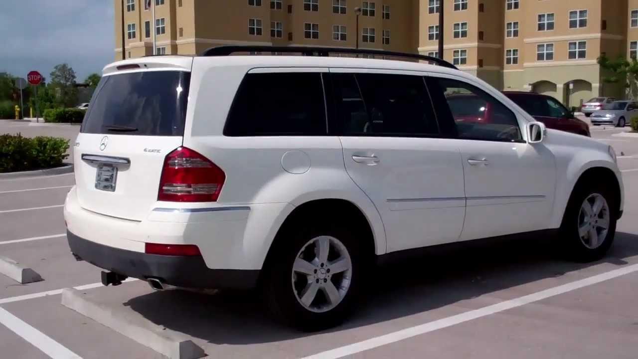 7 Seater Vehicles >> CarCompany : Mercedes GL 450 7 Seats 7A208910 White ...