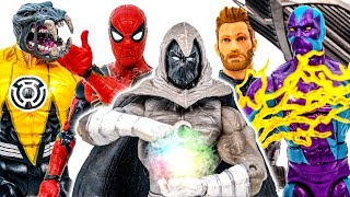 Spider Man ft Captain America Appeared~! Moon Knight Defeat Arkillo Monster - Marvel Superheroes Toy