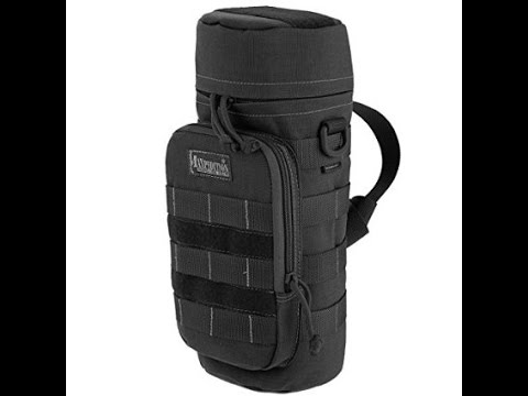 Maxpedition 12x5 Water Bottle Holder- Set up with Gear