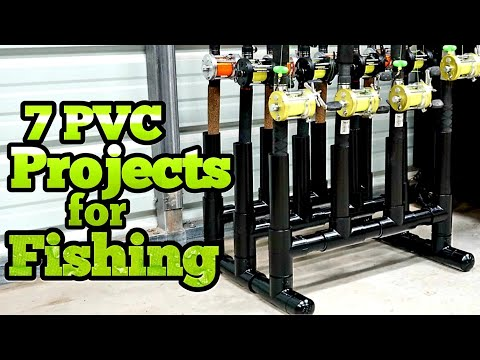 7 PVC Fishing Projects You Will Use