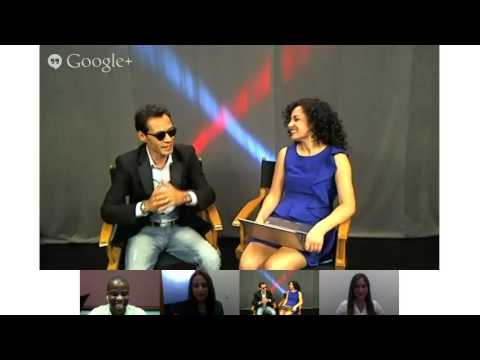 Marc Anthony #VivirMiVida Hangout On Air