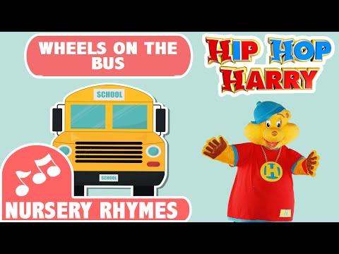 Wheels On The Bus | Nursery Rhymes | From Hip Hop Harry