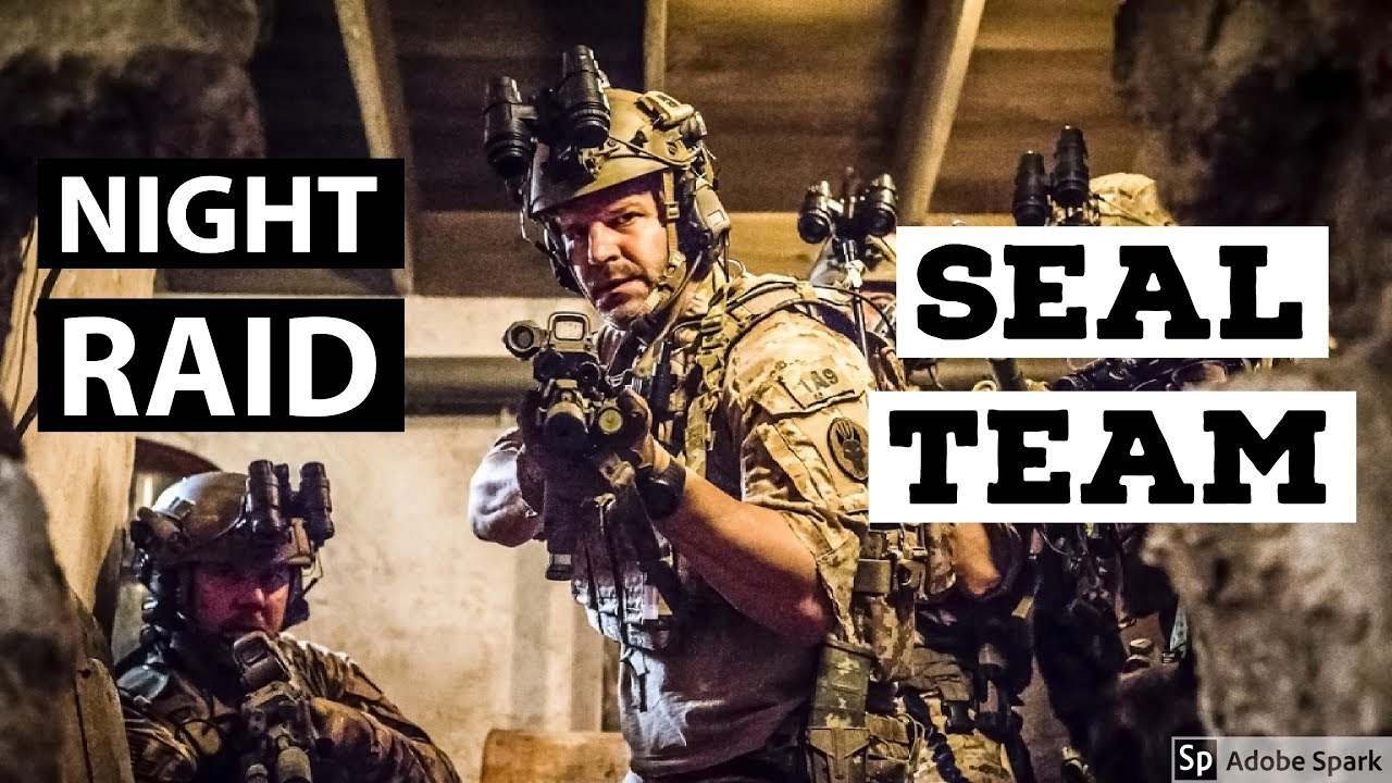Seal Team 2017 Episode 1 Opening Scene Night Time Raid Best Tv Moments Youtube