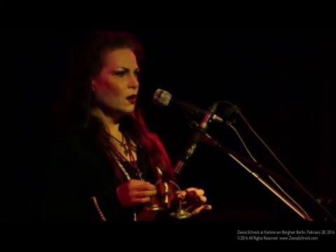 Zeena Schreck [Full concert] @Kantine am Berghain Berlin, Feb 28, 2016