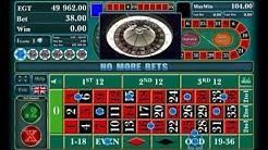 EUROPEAN ROULETTE online free casino SLOTSCOCKTAIL egt