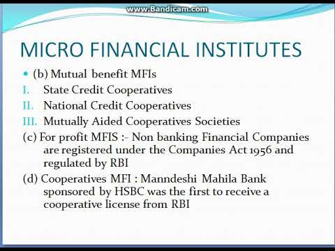 Micro finance part 2 Micro Finance Delivery Mechanism