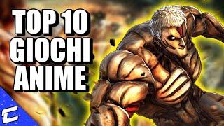 TOP 10 VIDEOGIOCHI TRATTI DA ANIME