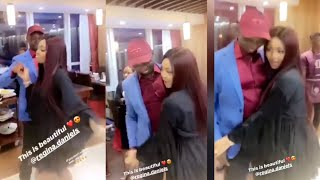 Regina Daniels And Husband Do The Ballet Dance At Her Magazine Launch
