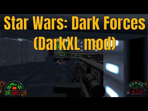 Star Wars: Dark Forces (DarkXL mod) gameplay (HD) - Mission 1