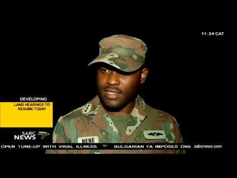 SANDF deployed on SA-Mozambique border