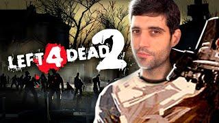 PRIMEIRA VEZ jogando Left 4 Dead 2, jogo HISTÓRICO