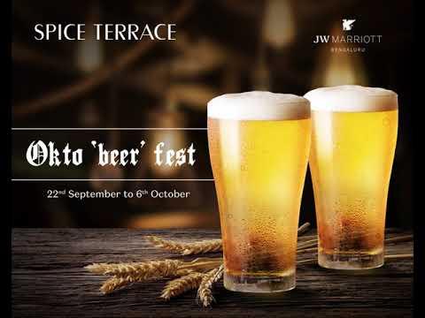 Oktoberfest At Spice Terrace, JW Marriott Hotel Bengaluru