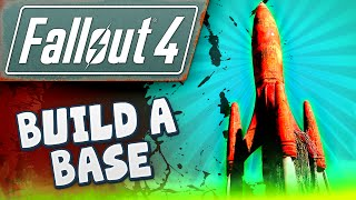 Fallout 4 Gameplay #11 - Building a Base