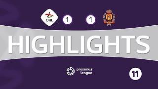 Highlights NL / OH Leuven - KV Mechelen 04/08/2018