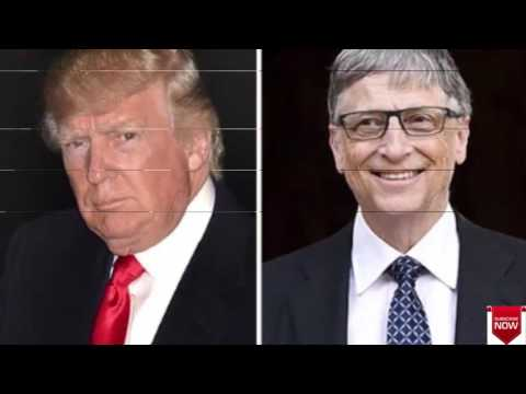 Bill Gates Named World's Richest Man With $86 Billion & Trump Plummets Down The List