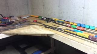 new ho scale train layout video one