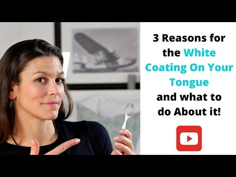 White Tongue - 3 Reasons For The White Coating On Your Tongue And What To Do About It 1