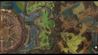 GW2 Lake Doric - Lakeside Bazaar Vista and Mastery Insight
