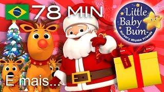 Canções de Natal | E muitas mais Canções infantis | LittleBabyBum!