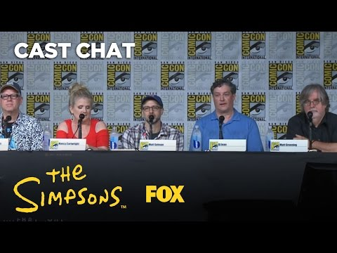 ComicCon Panel Highlights  Season 28  THE SIMPSONS